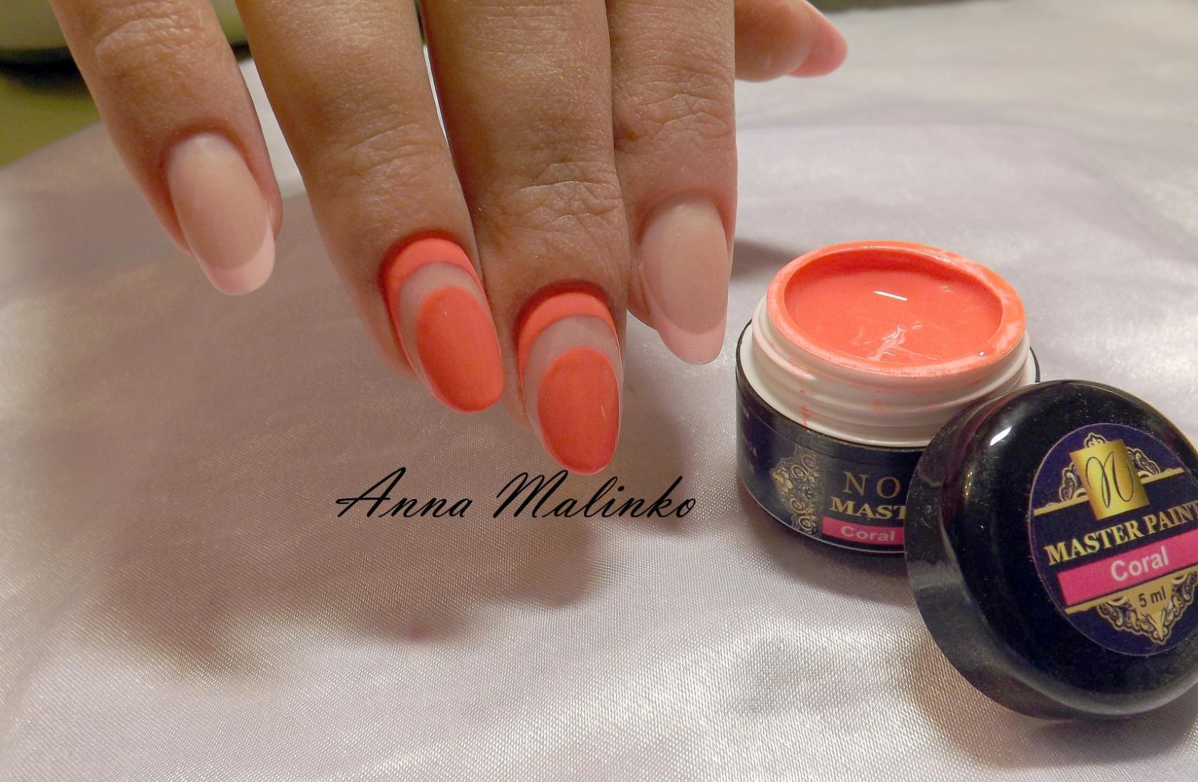 Гель краски для дизайна ногтей фото