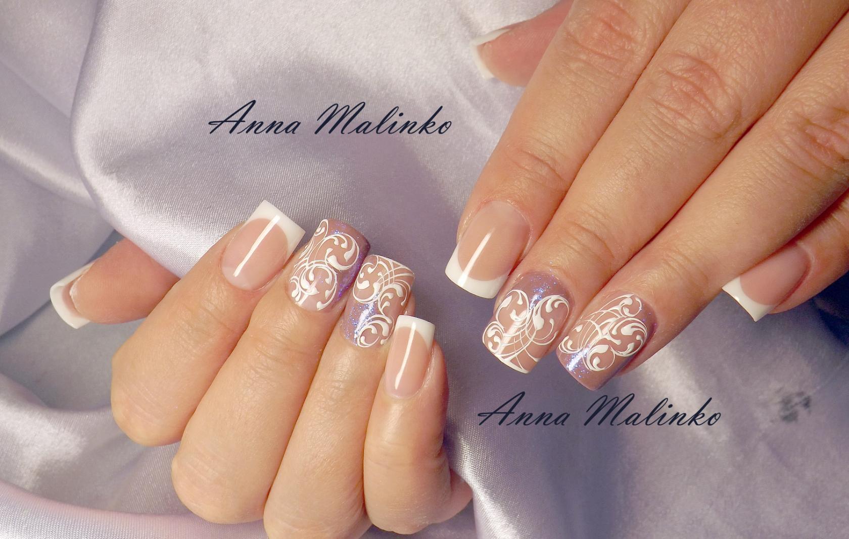 Анна малинко ногти фото