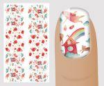 """Слайдер для дизайна ногтей, """"Акварель"""" №A139 ,  NOGTIKA"""