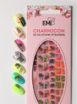 Charmicon 3D Silicone Stickers №80 Пальмы