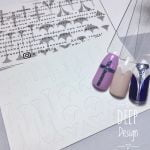 "Трафарет для ""DEEP DESIGN"" Ib.Di Nails №08"