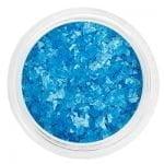 Декор неоновое пралине в баночке №07 SC 505 сине-голубые, IRISK