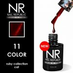 Гель-лак Кошачий глаз Cat Ruby Collection №11 Nail Republic, 10 мл
