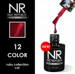 Гель-лак Кошачий глаз Cat Ruby Collection №12 Nail Republic, 10 мл