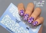 Слайдер дизайн White W12 FashionNails