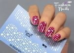 Слайдер дизайн White W15 FashionNails