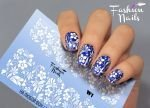 Слайдер дизайн White W01 FashionNails