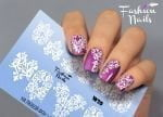 Слайдер дизайн White W20 FashionNails