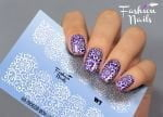 Слайдер дизайн White W03 FashionNails