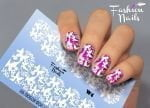 Слайдер дизайн White W04 FashionNails