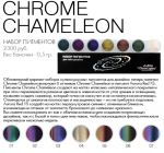 "Палетка с пигментами ""JU.Bilej by DL"" Chrome Chameleon №14"