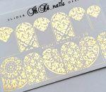 Слайдер фольгированный FOIL 19 (золото)
