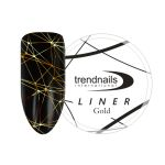 Паутинка LINER Trend Nails Gold 5 мл