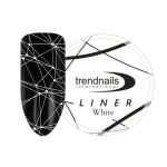 Паутинка LINER Trend Nails White 5 мл