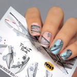 Слайдер дизайн Metallic M263 FashionNails