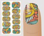 """Слайдер для дизайна ногтей, """"Орнамент"""" №V 139,  NOGTIKA"""