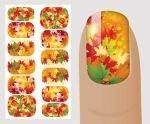 Слайдер для дизайна ногтей, Сезонный № Z121, NOGTIKA